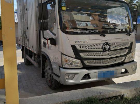 福田欧曼其他车系 载货车  150匹 2018年06月 4x2