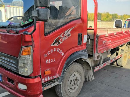 中国重汽王牌 载货车  124匹 2015年11月 4x2