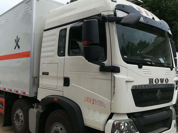 中國重汽HOWO 載貨車  340匹 2018年07月 8x4